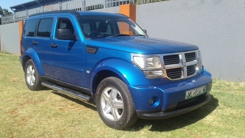 used dodge nitro 2 8 crd sxt a t for sale in gauteng id 2978955. Black Bedroom Furniture Sets. Home Design Ideas