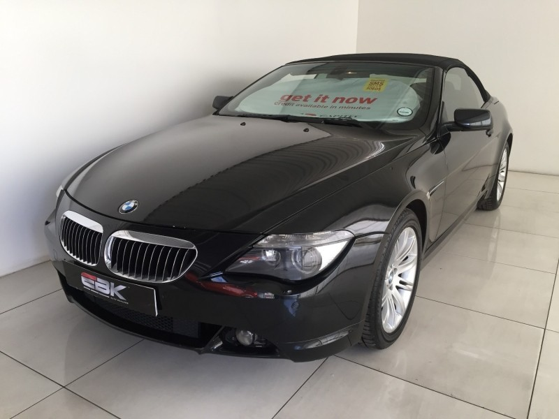 used bmw 6 series 650i convertible a t e64 for sale in gauteng id 2986797. Black Bedroom Furniture Sets. Home Design Ideas