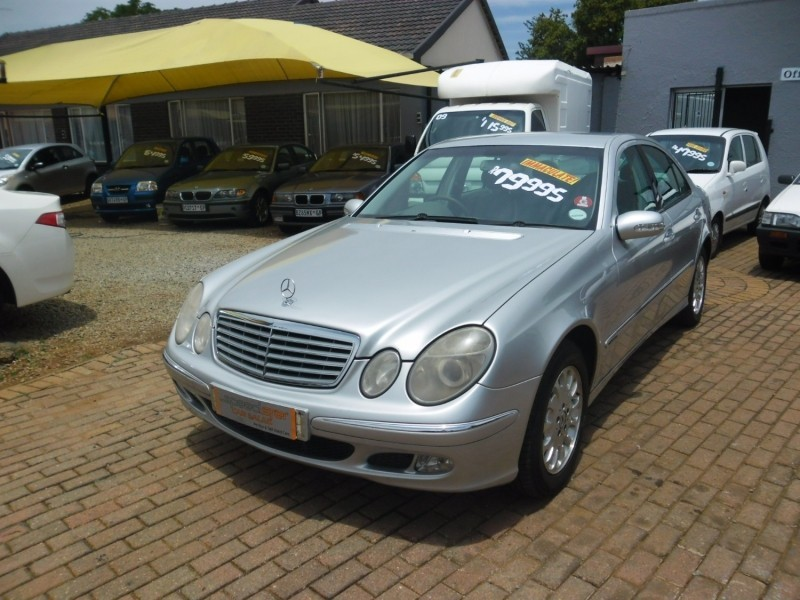 Used mercedes benz e class e 320 for sale in gauteng for Used mercedes benz e class for sale
