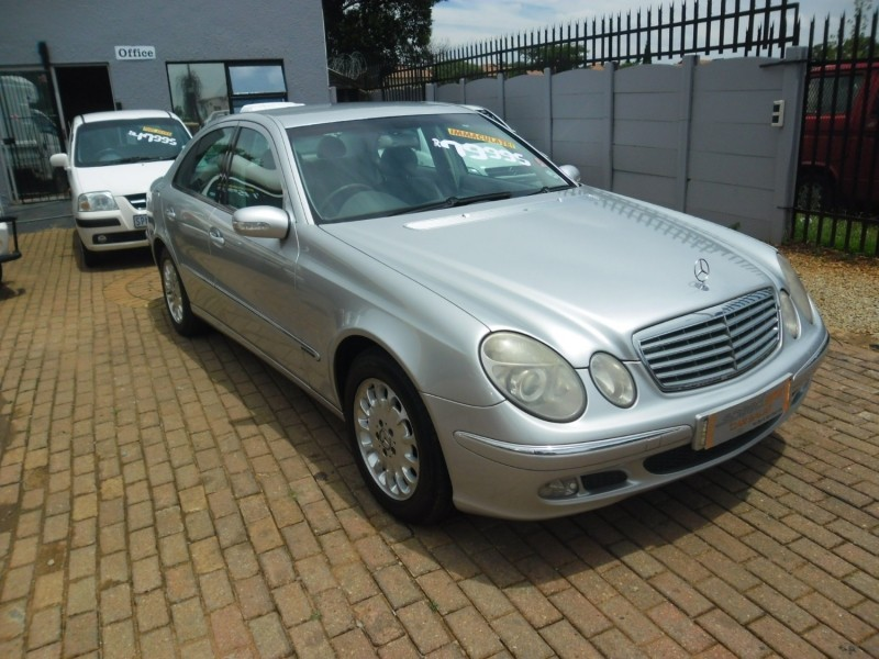 Used mercedes benz e class e 320 for sale in gauteng for 2003 mercedes benz e320 for sale