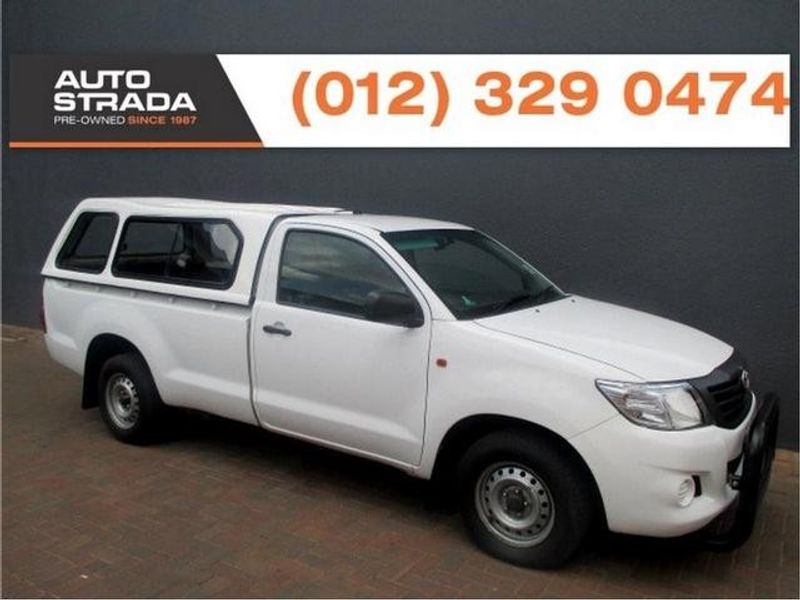 Used Toyota Hilux 2 5 D 4d P U S C For Sale In Gauteng