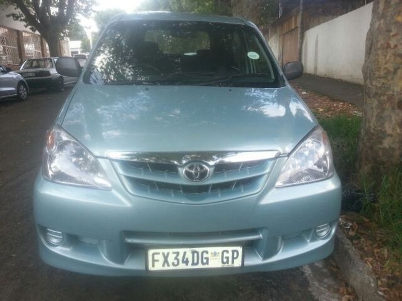 Used Toyota Avanza 1 5 For Sale In Gauteng Cars Co Za