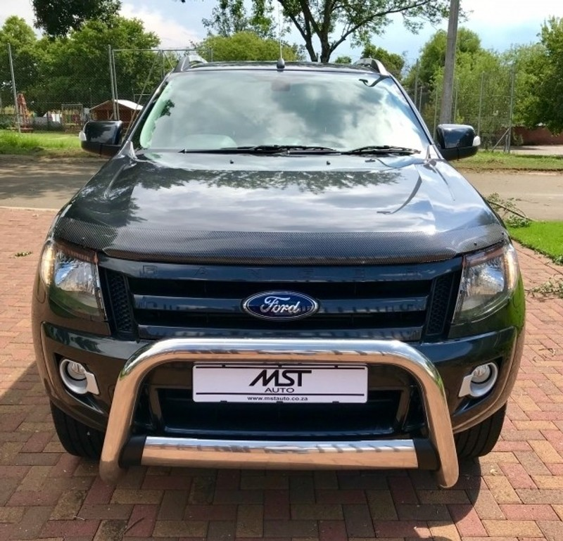 Used Ford Ranger 3.2TDCi Wildtrack Auto Double cab bakkie ...