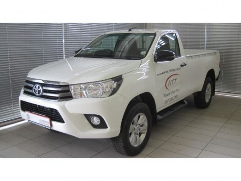 Used Toyota Hilux 2 4 Gd 6 Srx 4x4 Single Cab Bakkie Auto