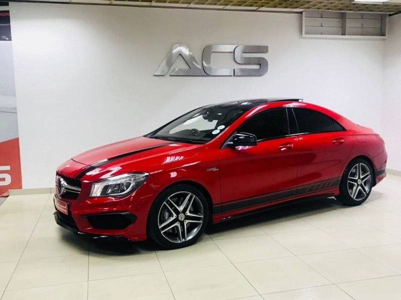 used mercedes benz cla class cla 45 amg performance pack pan roof nav for sale in gauteng cars. Black Bedroom Furniture Sets. Home Design Ideas