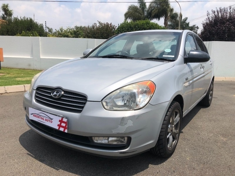 Used hyundai accent 1 6 gls hs a t for sale in gauteng for Garage hyundai 78
