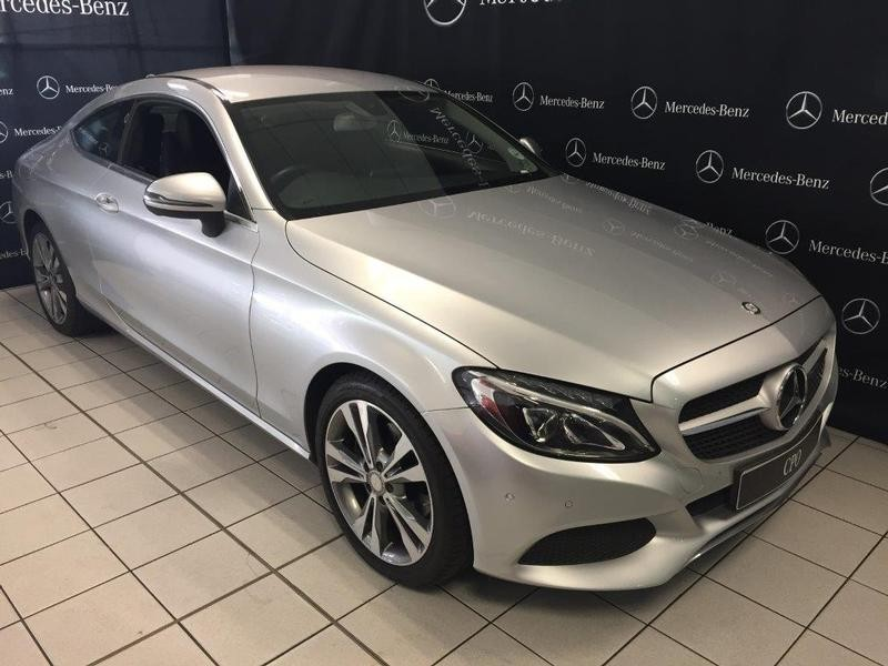 Used mercedes benz c class c220d coupe auto for sale in for Mercedes benz claremont