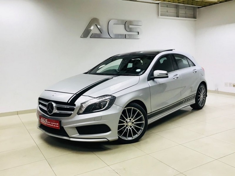 Used mercedes benz a class a 220d cdi amg 7g tronic xenons for Mercedes benz 220d for sale
