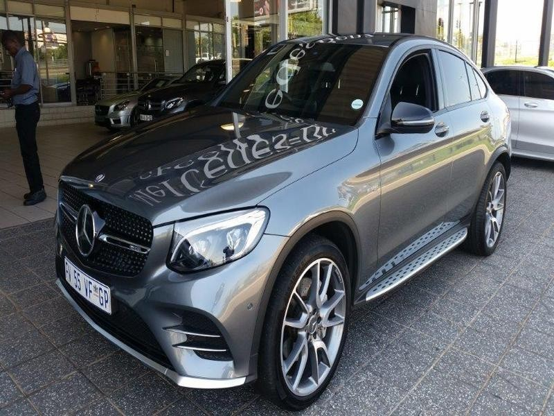 used mercedes benz glc amg glc 43 coupe 4matic for sale in gauteng id 3041310. Black Bedroom Furniture Sets. Home Design Ideas