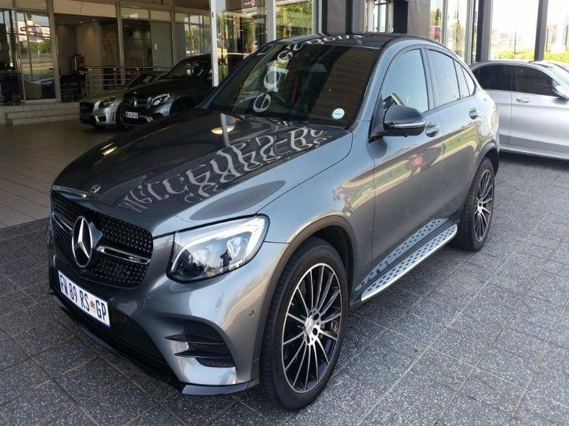 used mercedes benz glc amg glc 43 coupe 4matic for sale in gauteng id 3041314. Black Bedroom Furniture Sets. Home Design Ideas