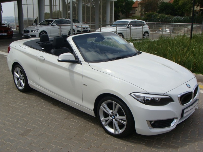 used bmw 2 series 220i convertible luxury line auto f23 for sale in gauteng id. Black Bedroom Furniture Sets. Home Design Ideas