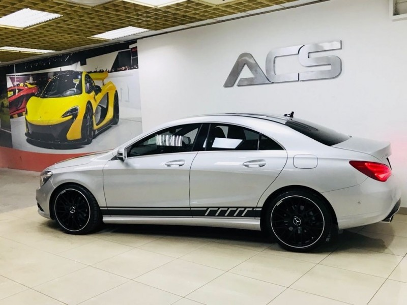 Used mercedes benz cla class cla 200 amg 7g tronic for Mercedes benz cla class for sale