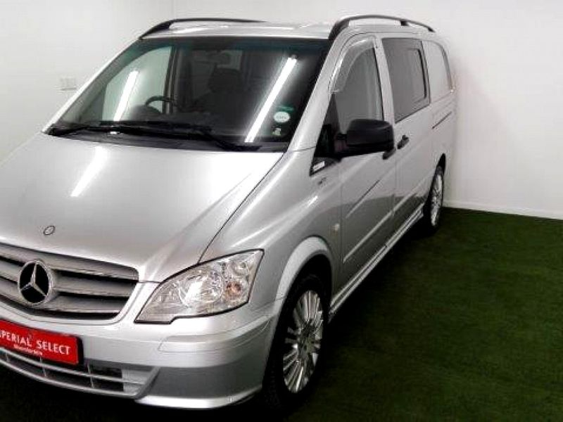 Used mercedes benz vito 116 cdi crewbus for sale in free for Mercedes benz vito for sale