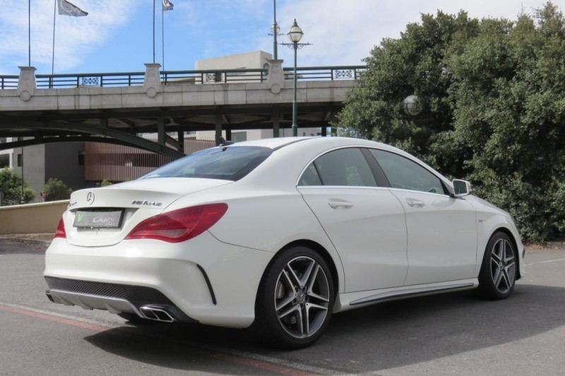 Used mercedes benz cla class cla45 amg for sale in western for Mercedes benz cla amg for sale