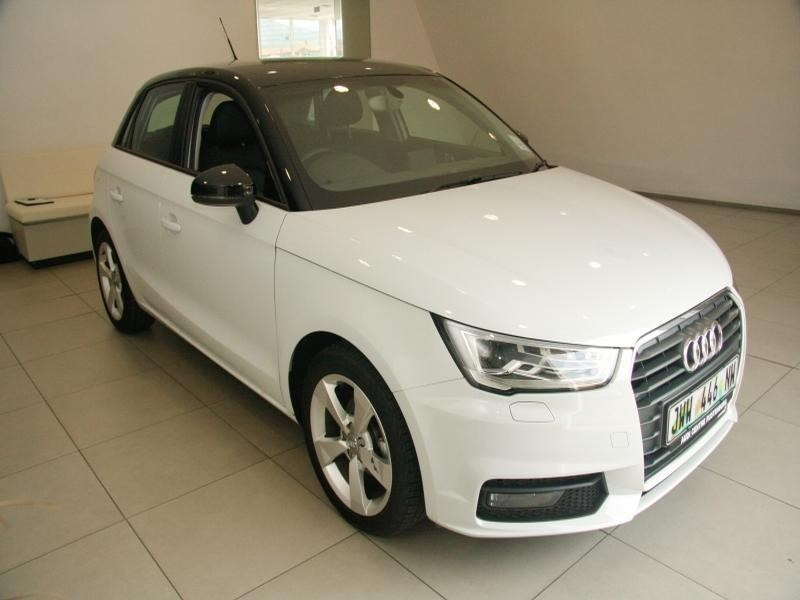 used audi a1 sportback 1 0t fsi se se s tronic for sale in north west province id. Black Bedroom Furniture Sets. Home Design Ideas
