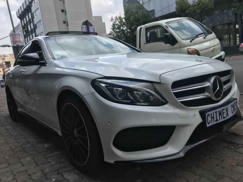 Used mercedes benz c class c250 amg line auto for sale in for Mercedes benz c class used cars for sale