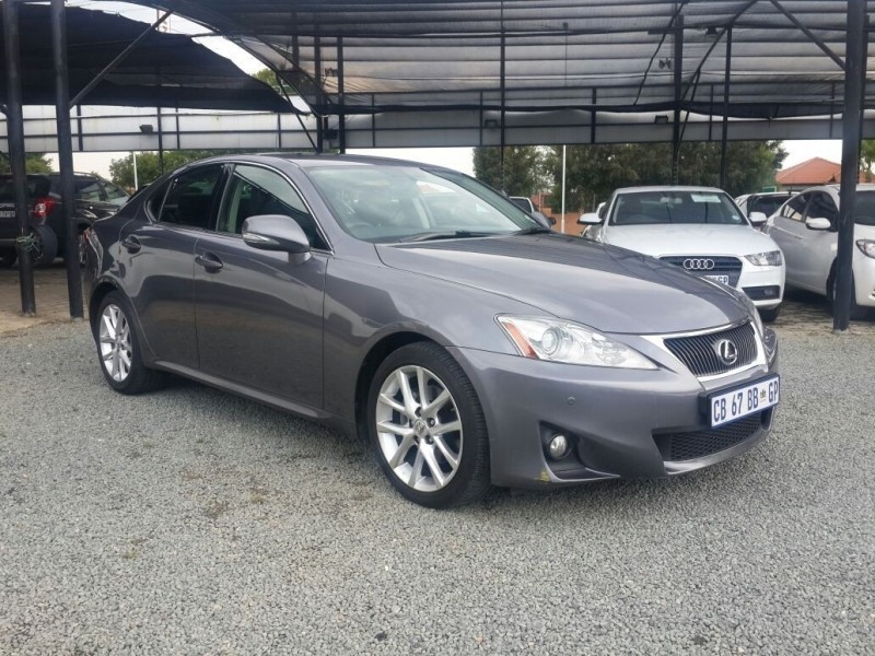 used lexus is 250 ex a t for sale in gauteng id 3057032. Black Bedroom Furniture Sets. Home Design Ideas