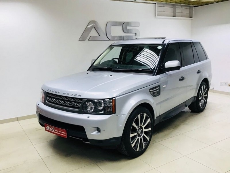 used land rover range rover sport 5 0 supercharged hse 77000kms for sale in gauteng. Black Bedroom Furniture Sets. Home Design Ideas
