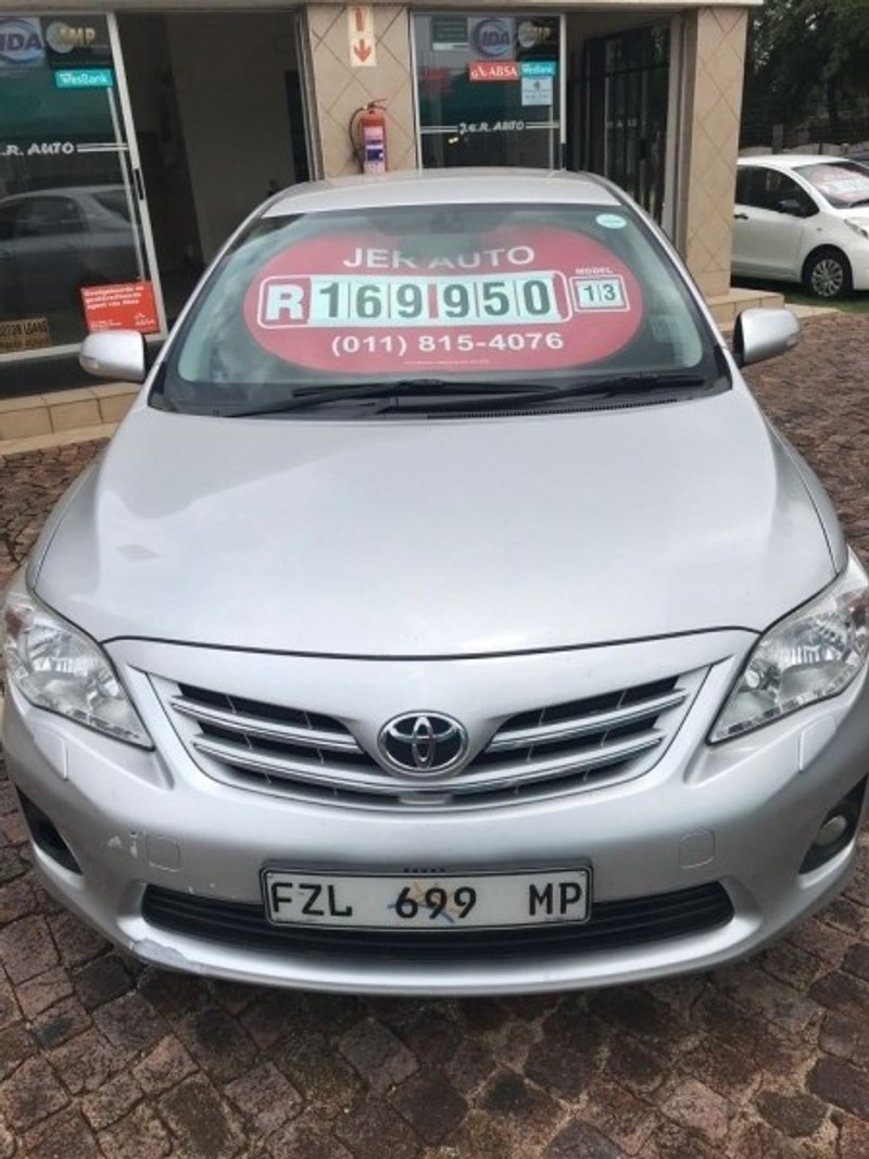 Used Toyota Corolla 2 0 Exclusive A T For Sale In Gauteng