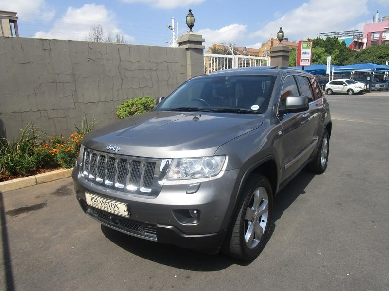used jeep grand cherokee v6 crd overland for sale in gauteng id 3062352. Black Bedroom Furniture Sets. Home Design Ideas