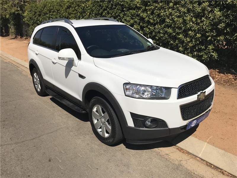 used chevrolet captiva 2 4 lt a t for sale in western cape. Black Bedroom Furniture Sets. Home Design Ideas