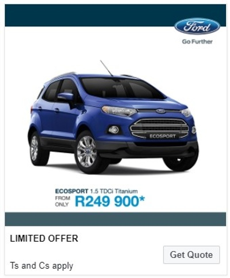 Discounted New Ford Cars