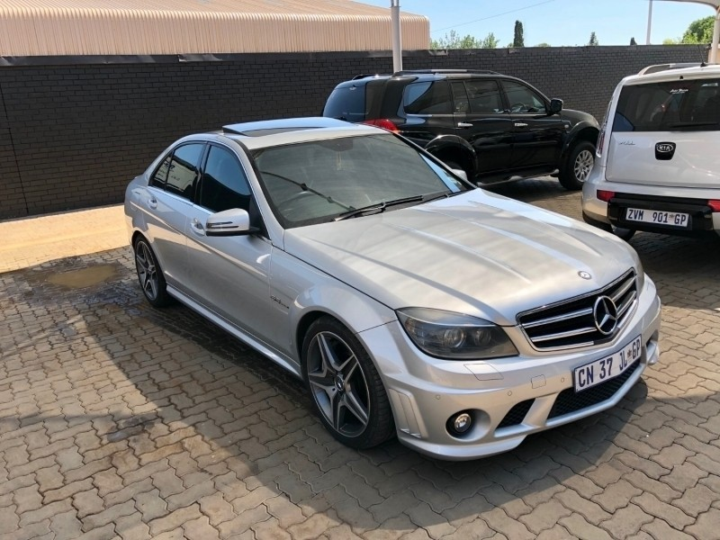 used mercedes benz c class c63 amg for sale in gauteng id 3069146. Black Bedroom Furniture Sets. Home Design Ideas