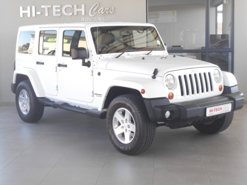 used jeep wrangler unlimited v6 a t with soft top for sale in north west province. Black Bedroom Furniture Sets. Home Design Ideas