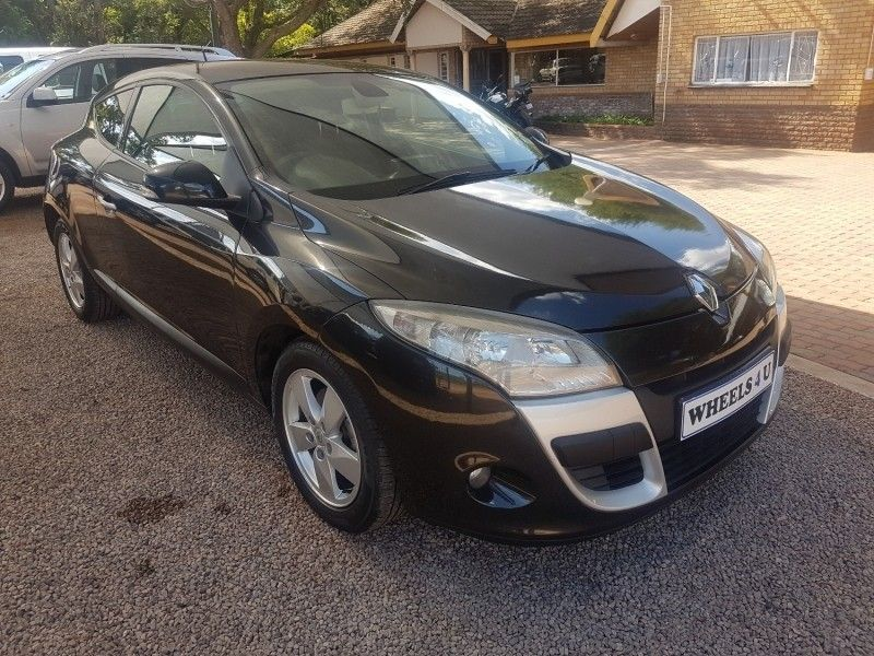 used renault megane iii 1 6 dynamique coupe for sale in gauteng id 3069608. Black Bedroom Furniture Sets. Home Design Ideas