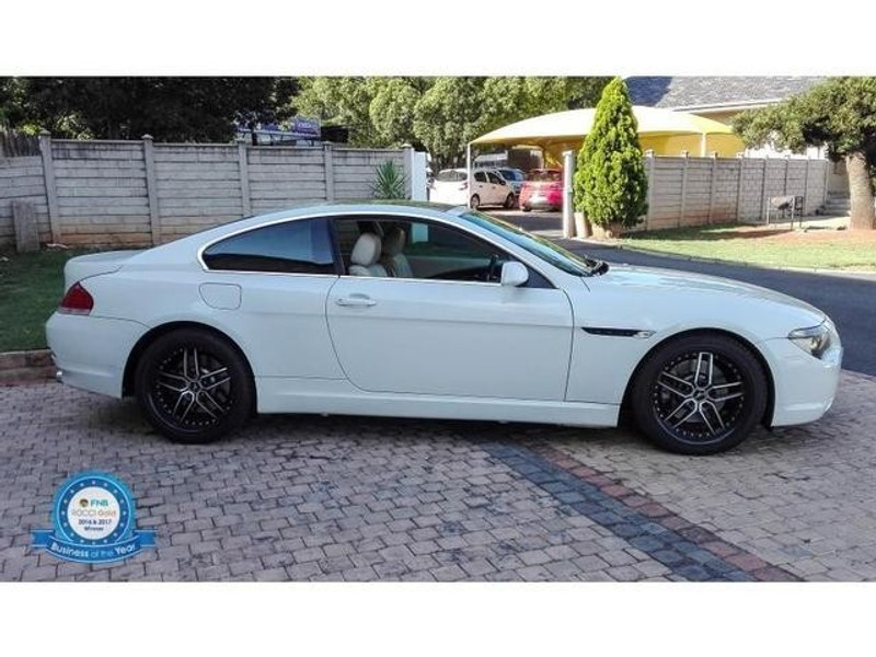used bmw 6 series 645ci coupe a t e63 for sale in gauteng id 3070590. Black Bedroom Furniture Sets. Home Design Ideas