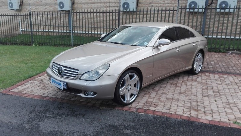 used mercedes benz cls class cls 500 for sale in gauteng id 3070602. Black Bedroom Furniture Sets. Home Design Ideas