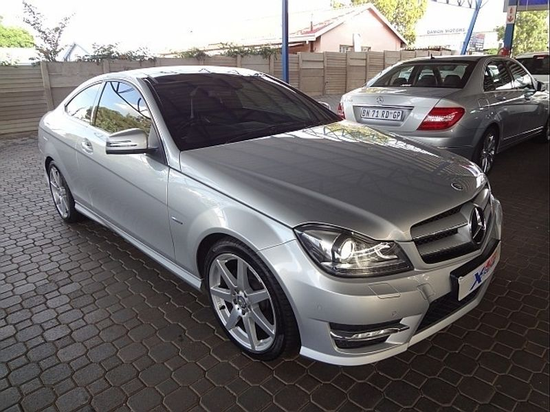 Used mercedes benz c class c180 be coupe a t amg for sale for Mercedes benz c class used cars for sale