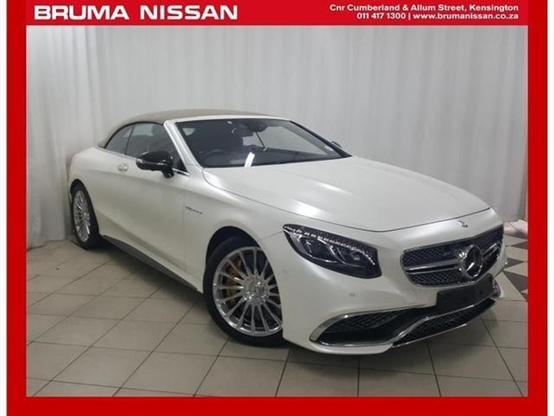 Used mercedes benz s class amg s65 cabriolet for sale in for Used mercedes benz s65 amg for sale
