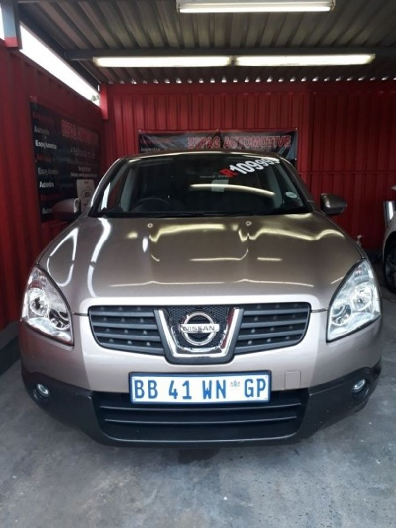 used nissan qashqai 2 0 acenta for sale in gauteng cars. Black Bedroom Furniture Sets. Home Design Ideas