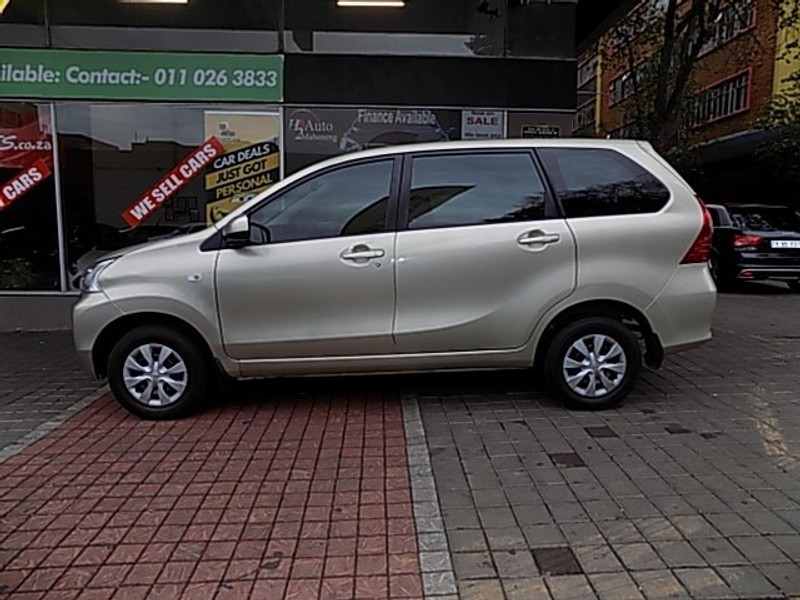 Used Toyota Avanza 1 5 Sx For Sale In Gauteng