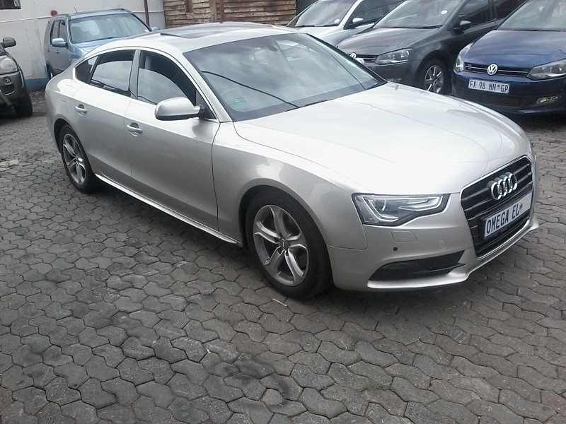 used audi a5 2 0t fsi multi for sale in gauteng id 3081052. Black Bedroom Furniture Sets. Home Design Ideas