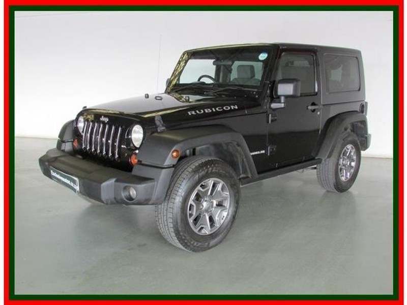 used jeep wrangler 3 8 rubicon 2dr for sale in gauteng id 3081138. Black Bedroom Furniture Sets. Home Design Ideas
