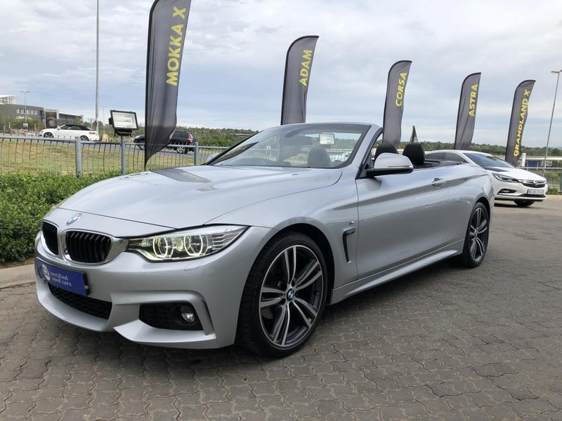 used bmw 4 series 420i convertible m sport auto for sale in gauteng id 3089540. Black Bedroom Furniture Sets. Home Design Ideas