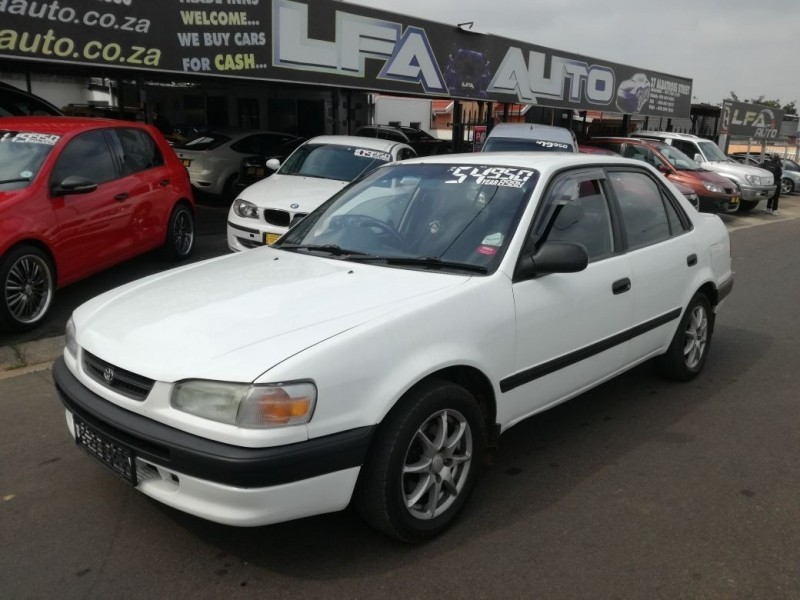 used toyota corolla cash only for sale in gauteng id 3090900. Black Bedroom Furniture Sets. Home Design Ideas