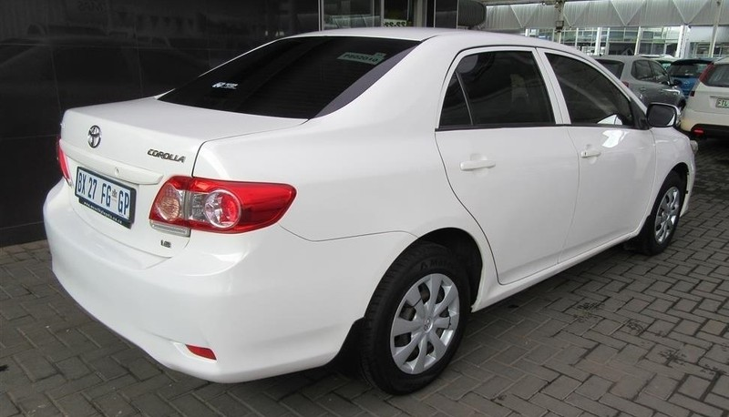 used toyota corolla 1 6 professional for sale in gauteng id 3091306. Black Bedroom Furniture Sets. Home Design Ideas