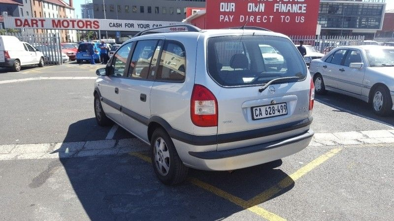 used opel zafira 2 2 elegance a t for sale in western cape id 3100585. Black Bedroom Furniture Sets. Home Design Ideas