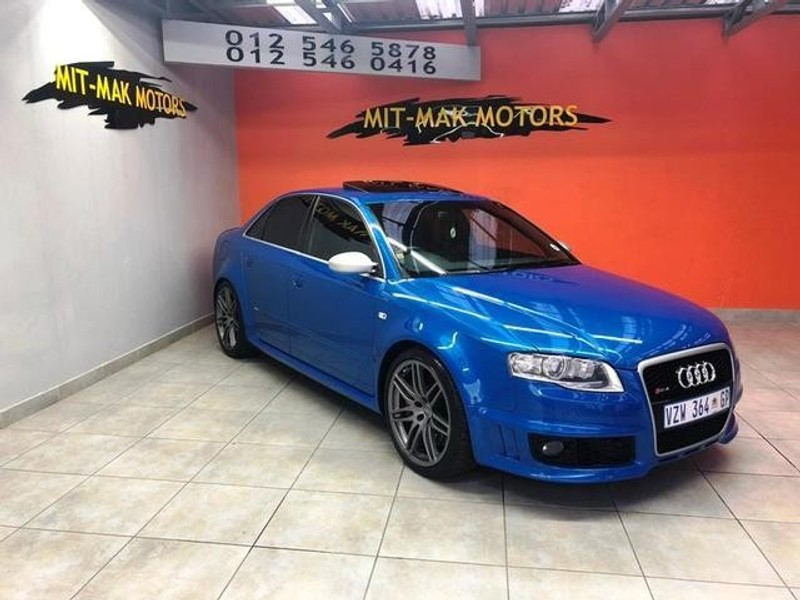 used audi rs4 quattro for sale in gauteng id 3109199. Black Bedroom Furniture Sets. Home Design Ideas