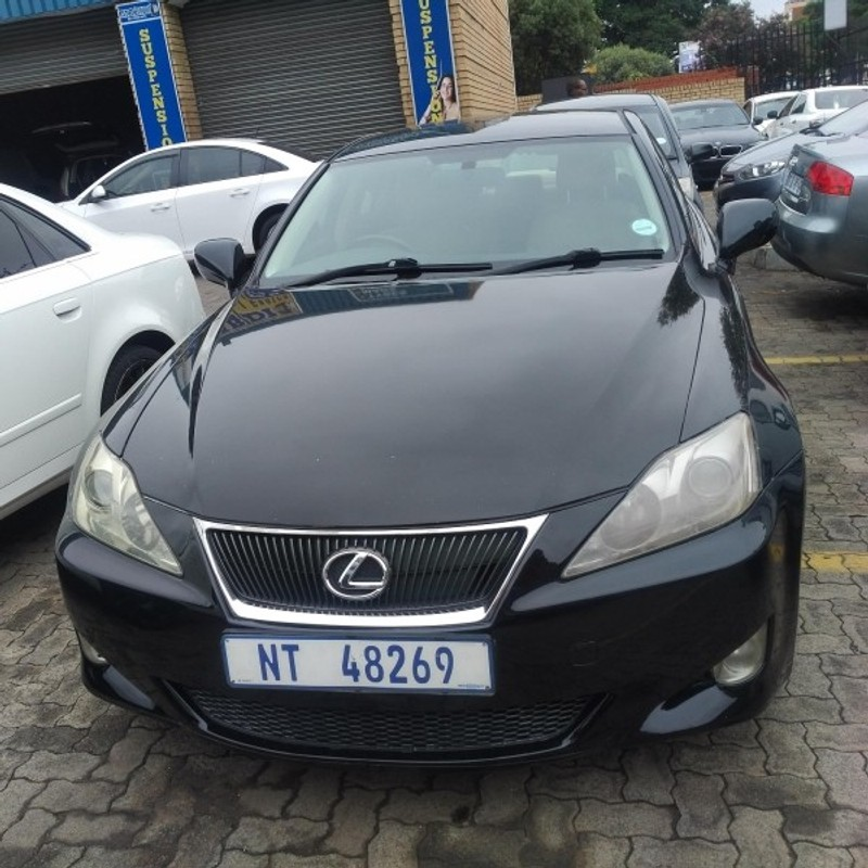 used lexus is 250 a t for sale in gauteng id 3114347. Black Bedroom Furniture Sets. Home Design Ideas