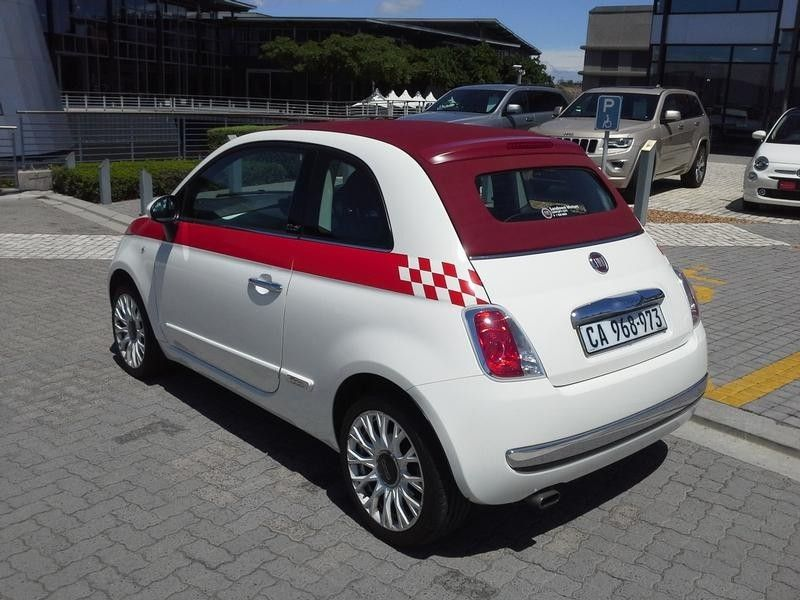 used fiat 500 1 4 sport cabriolet for sale in western cape. Black Bedroom Furniture Sets. Home Design Ideas
