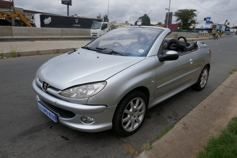 Used peugeot 206 2 0 coupe cabriolet for sale in gauteng id 3115873 - Peugeot 206 coupe cabriolet review ...