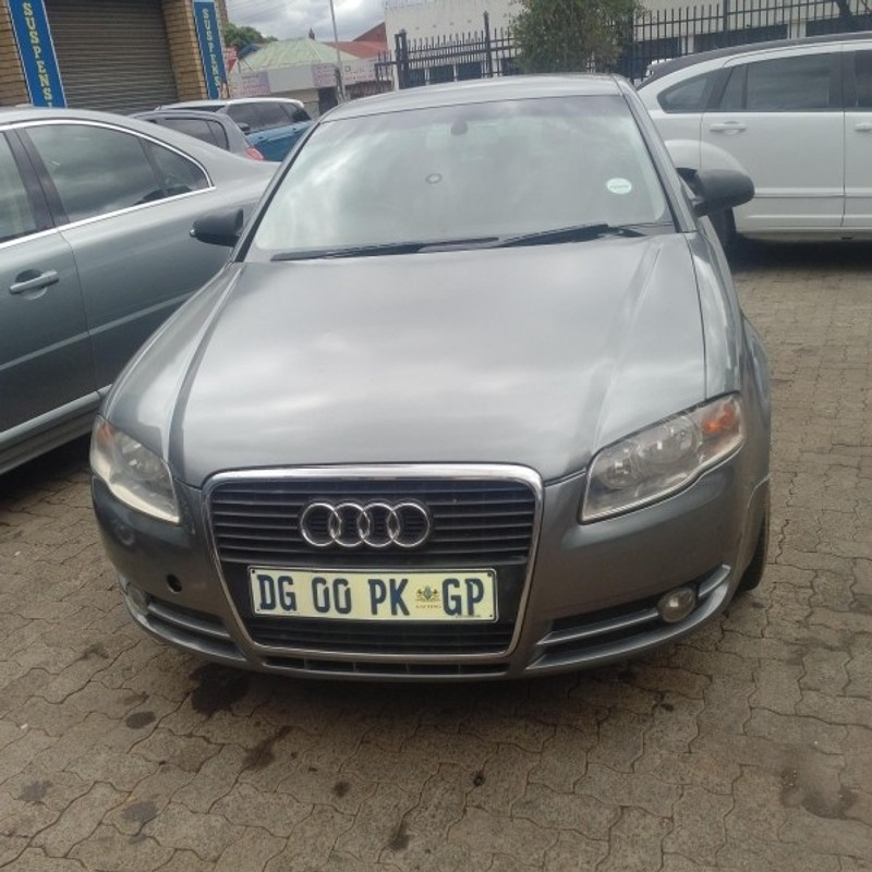 Used Audi A4 2.0 Tdi (b7) For Sale In Gauteng