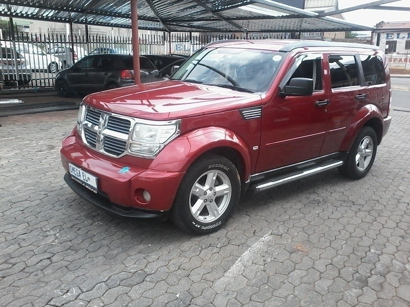 used dodge nitro 3 7 sxt a t for sale in gauteng id 3122965. Black Bedroom Furniture Sets. Home Design Ideas