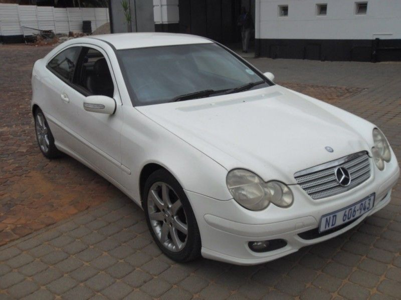 used mercedes benz c class c230 v6 coupe a t for sale in gauteng id 3125397. Black Bedroom Furniture Sets. Home Design Ideas