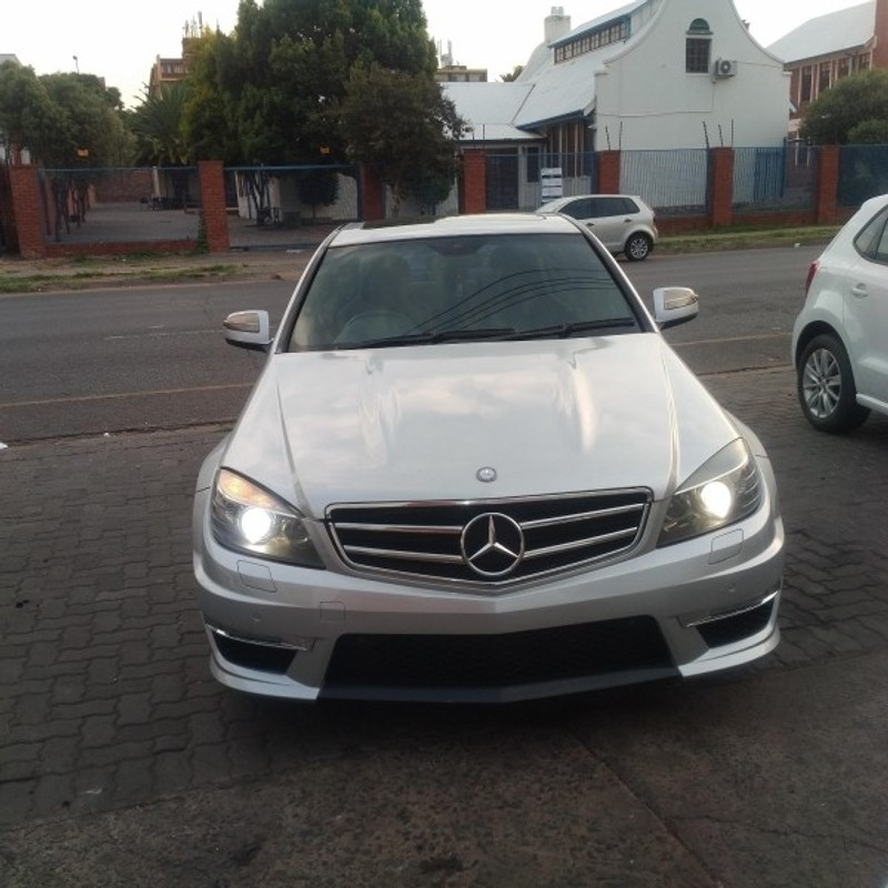 used mercedes benz c class c63 amg for sale in gauteng id 3126035. Black Bedroom Furniture Sets. Home Design Ideas