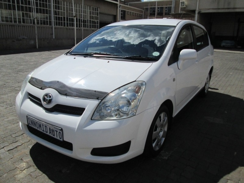 used toyota corolla verso 160 for sale in gauteng cars. Black Bedroom Furniture Sets. Home Design Ideas